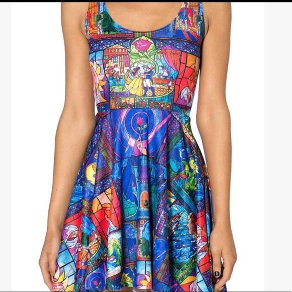 391b2f0937 Blackmilk Dresses   Skirts - Blackmilk Beauty and the Beast Skater Dress